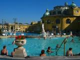 Thermal pools in the park, Budapest