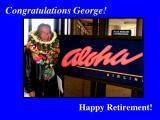 Congratulations George!