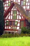 Swiss farmhouse along Lake Zurich