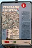 Switzerland has an extensive network of national bike trails, Veloland Schweiz