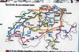 Swiss National Bike Routes