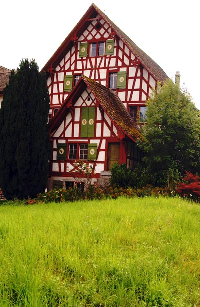 Old timbered house near Stäfa