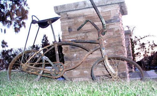 Scorched Bicycle<br> Birch Bluff Avenue
