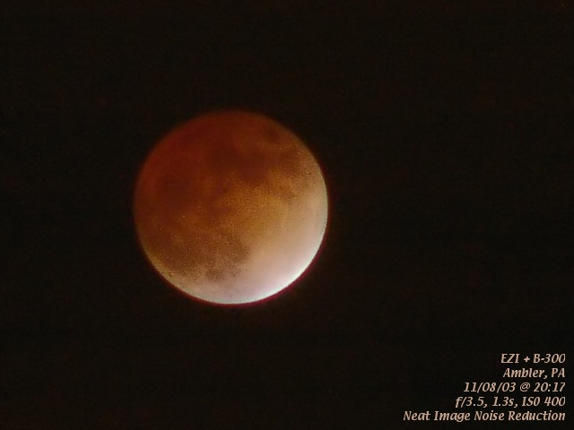 Lunar Eclipse 11/08/03