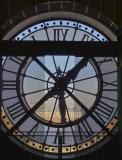 Clock in D'Orsay Museum