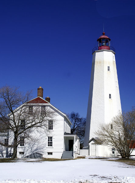 Sandy Hook Light House-view two