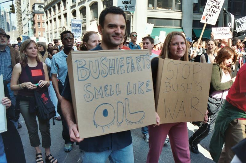 Bushie Farts Smell Like Oil
