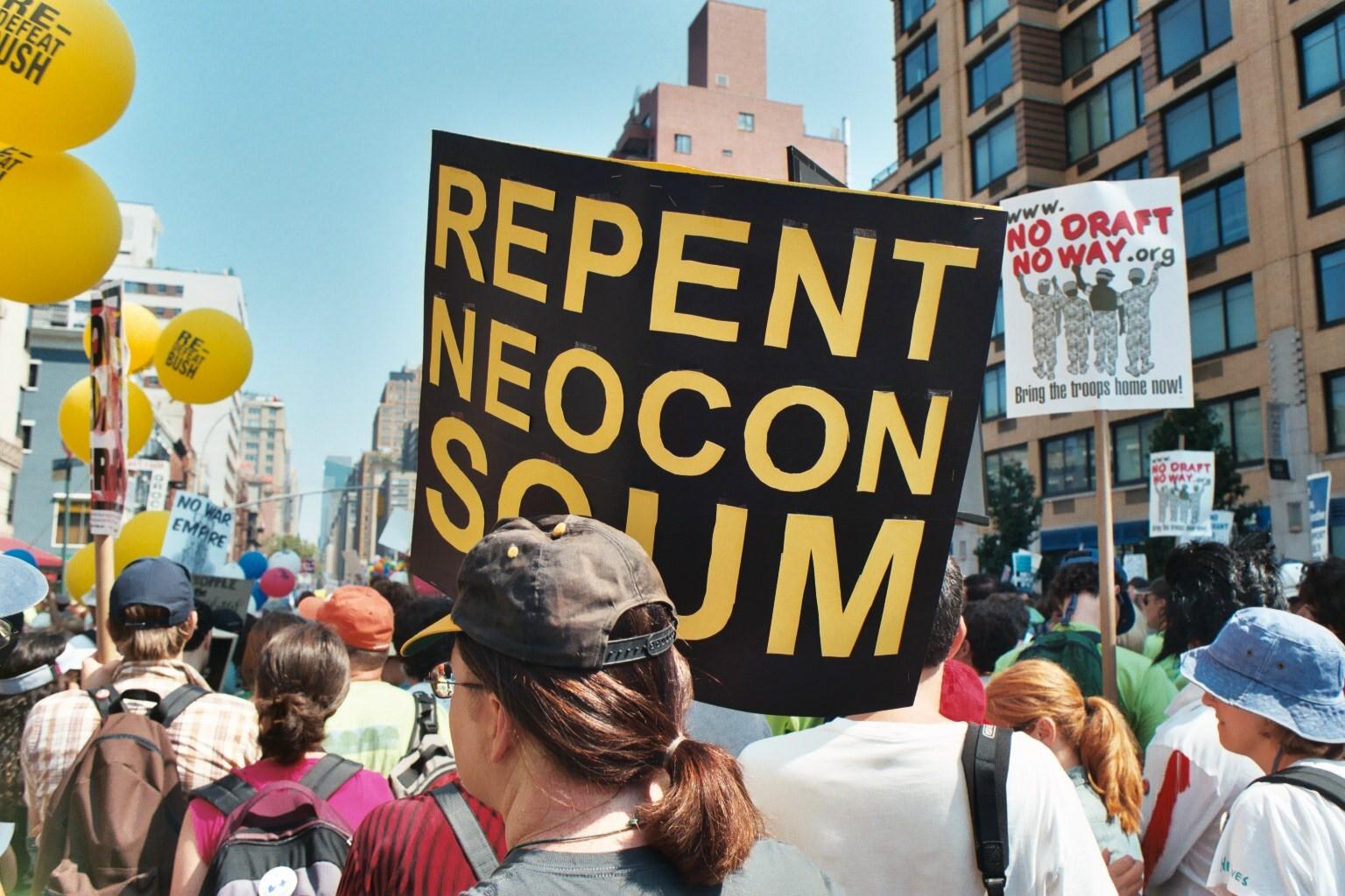 Repent Neocon Scum