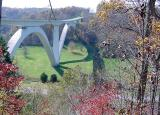 Bridge on the Natchez Trace Parkway near Nashville