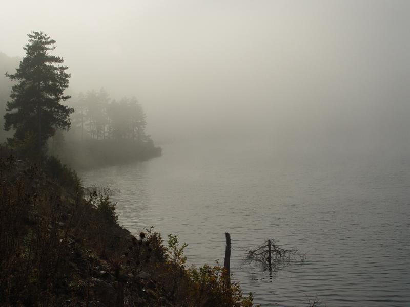 Occasional mist, October 2004