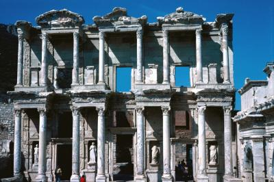 Efes Celsus library