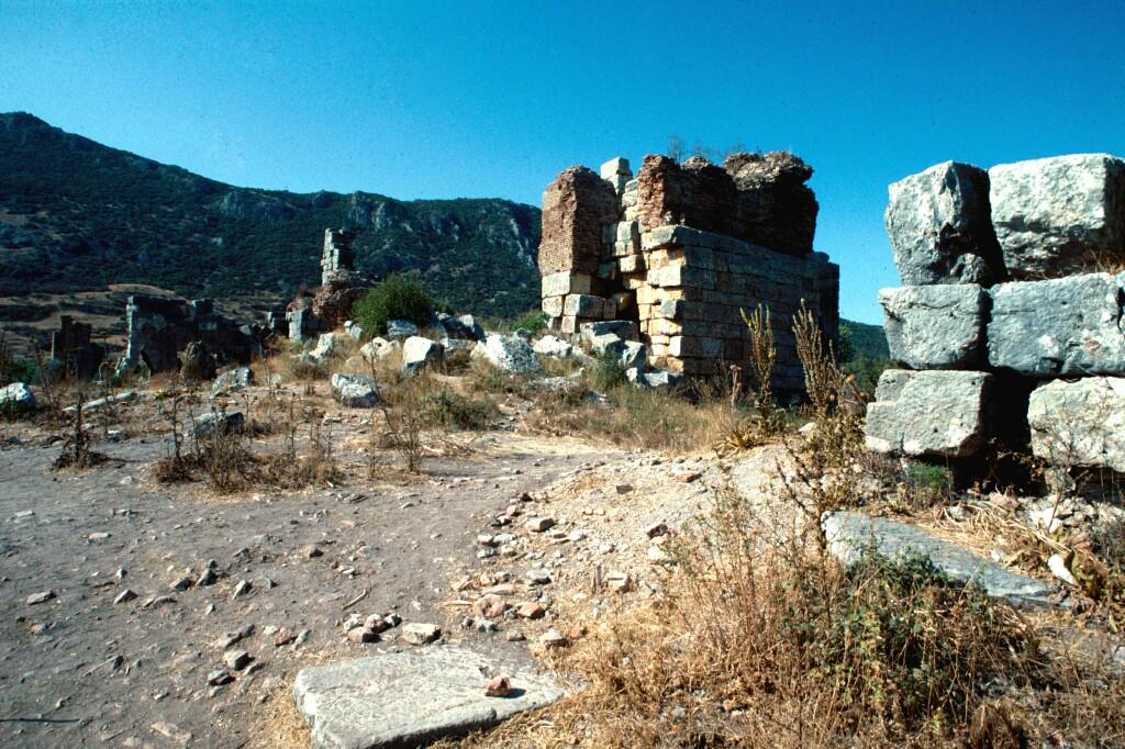 Efes harbour area