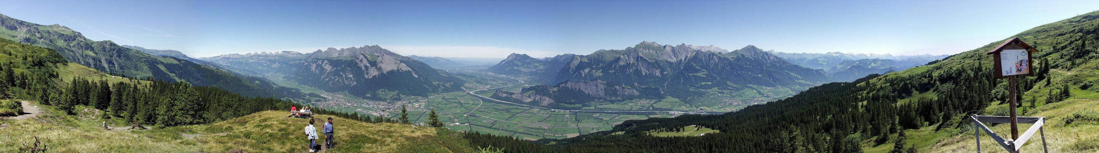 Pizol / Rheintal (Switzerland)