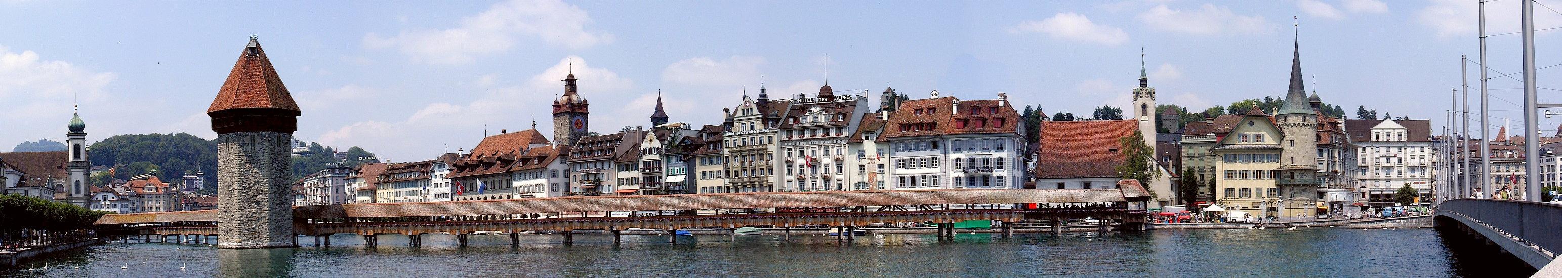 Lucerne - Chapel Bridge