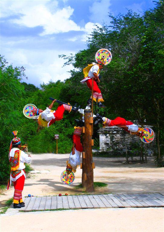 Mayan Sun Dancers