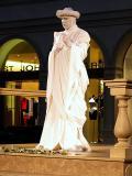 Venetian Live Statue