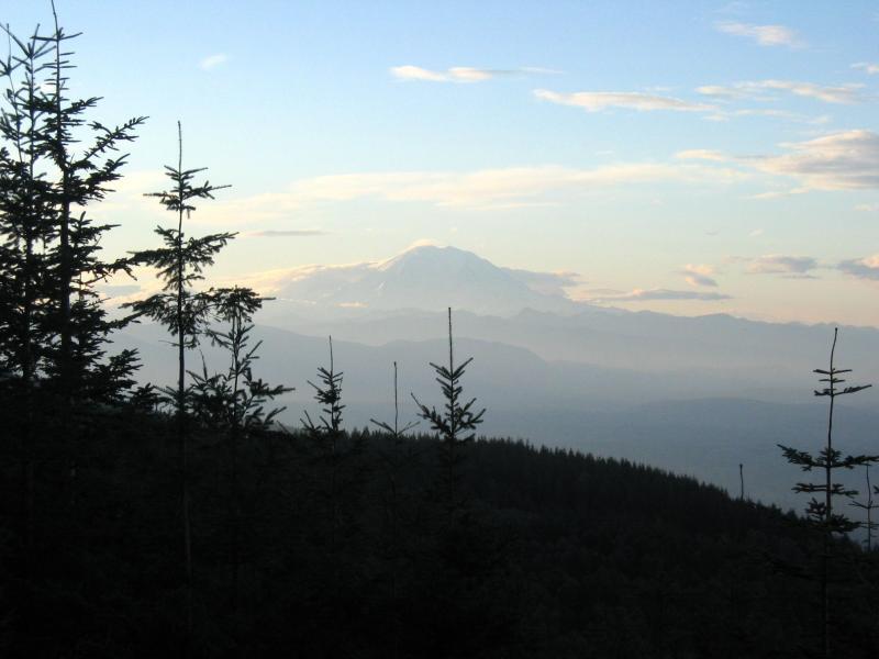 Mt. Rainier from T2