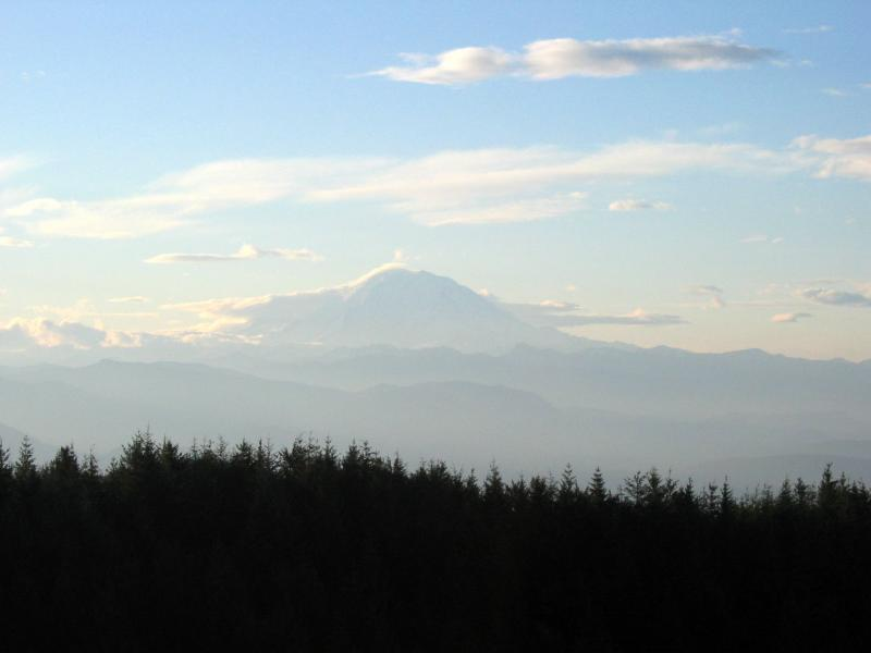 Mt. Rainier from T1