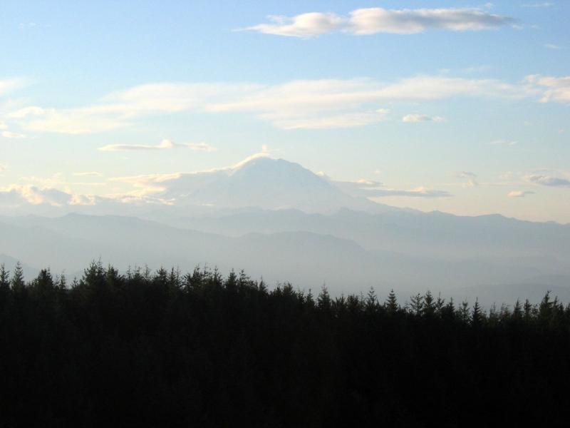 Mt. Rainier from T1