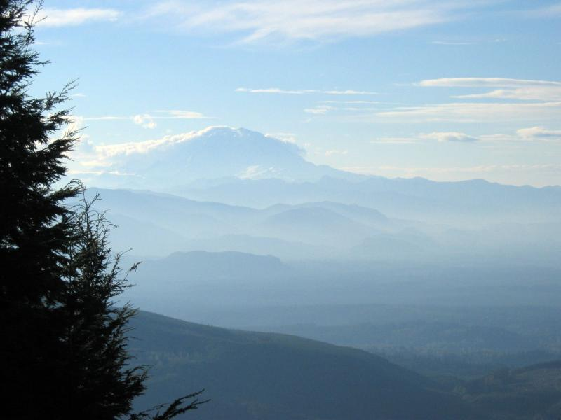 Mt. Rainier from East Tiger