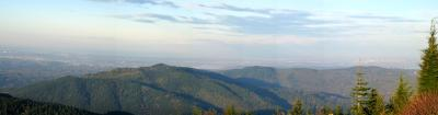 Squak Mt., Cougar Mt., Seattle Panaroma from T1 - early morning