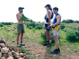 Brandon, Scott & dave at the top of Mugu Peak