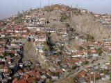 A gecekondu (shanty town) from the Kale