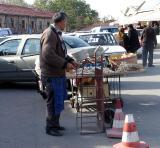 Garlic vendor