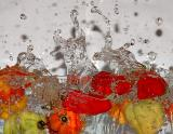 Life Is Just a Bowl of Peppers (5th place, exhib, Liquids)