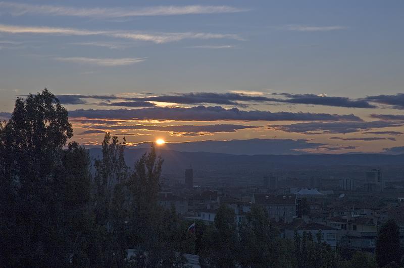 Ankara sunset