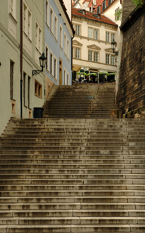 Mala Strana stairway