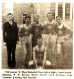 Lumber City High Basketball Team 1938