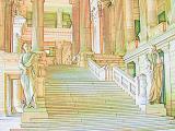 Roman Palace - Antique Patina