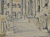 Roman Palace-Color Charcoal