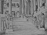 Roman Palace-Soft Charcoal