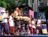 Isan band on stage