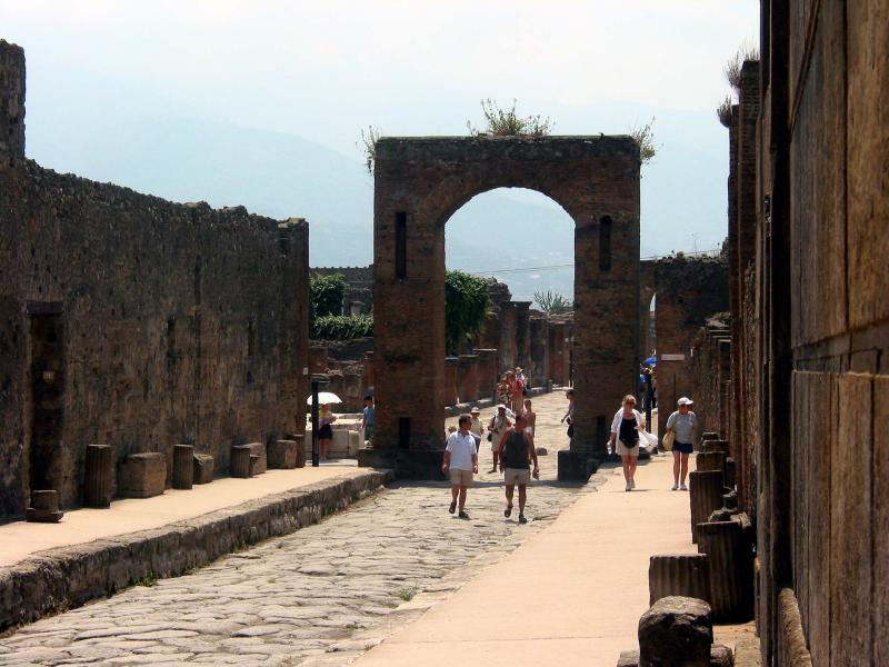 Emporers gate (cant remember who - Tiberius?)