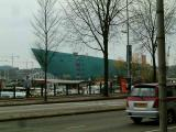 Nemo building,also built in the form of a ship. Seen from the Scheepvaarthuis