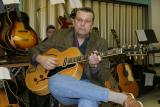 J. Geils with his 1938 Gibson L7 with ES250 appointments
