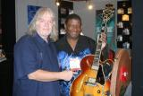 Seymour Duncan and Robert Lowe with his 71 Super 400