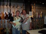 Me and Mike Eldred with the Ike Strat