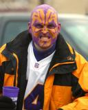 Is this Viking Football fan mean?