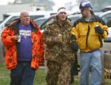 These guys are three typical Viking Football fans.