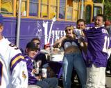 And this fan is NOT wearing purple underwear!