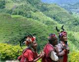 Three Ifugao in Banaue