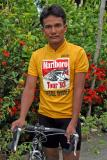 Cycling champ Crestito A. Guieb - (Born March 29, 1967 in Bagabag, Nueva Vizcaya). Captain of the winning Philippine regional Northern Luzon team in the Marlboro Tour '97. A farmer by profession, 5'5 tall, 120 lbs. A 10-year Marlboro Tour veteran with back to back wins in 1993 and 1994 as well as placing 4th in the Marlboro Tour '97. Considered as one of the Philippine's best mountain climbers
