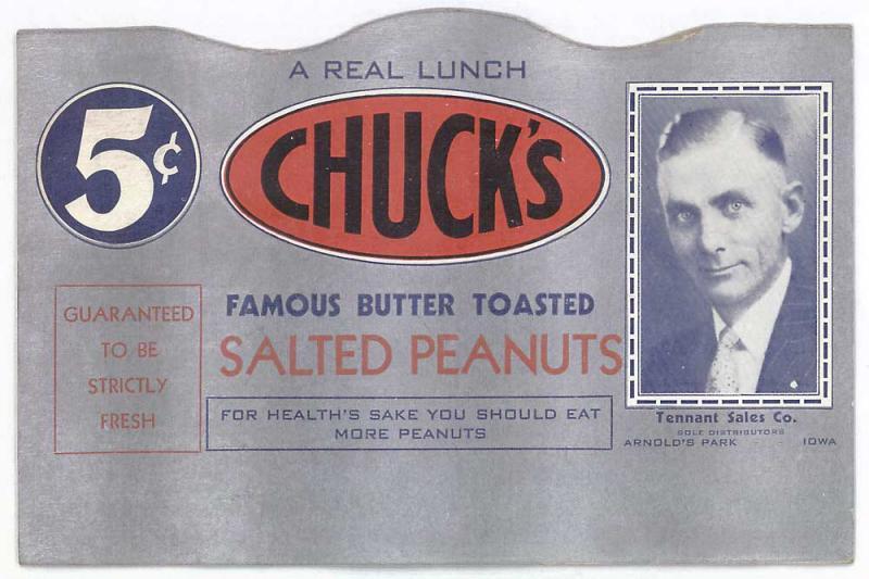 Chucks Peanuts