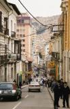 on streets in La Paz, the capital of Bolivia