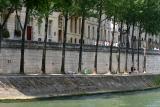 Quai De Seine in july