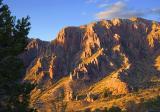 Mountain in Sunset Glow 6368